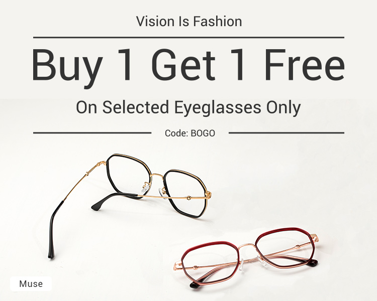 BOGO Glasses, BOGO Prescription Glasses, Buy One Get One Eyeglasses Online