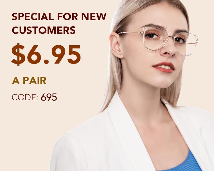Prescription Glasses for New Customers - Affordable Eyeglasses