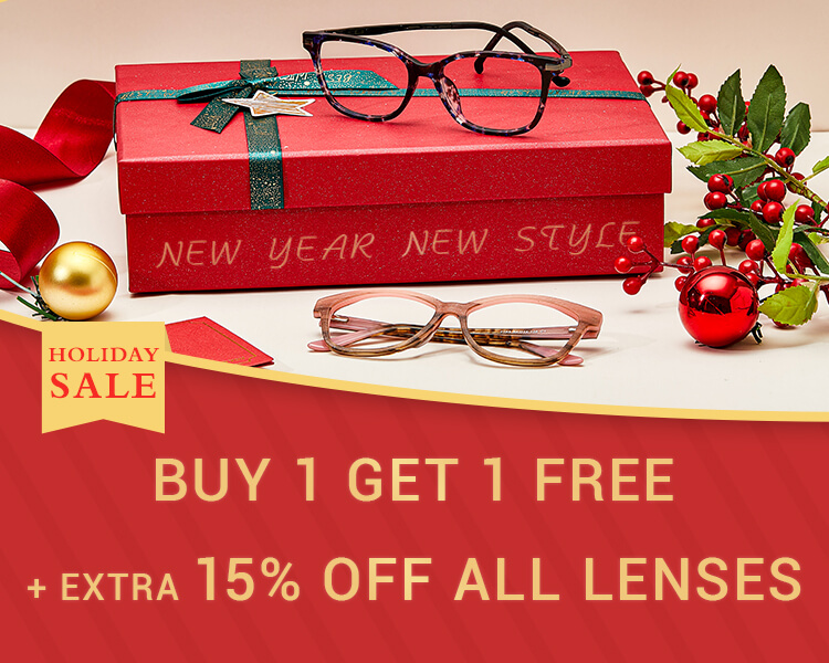 Buy One Get One Free Eyeglasses Online, BOGO Glasses, BOGO Prescription Glasses