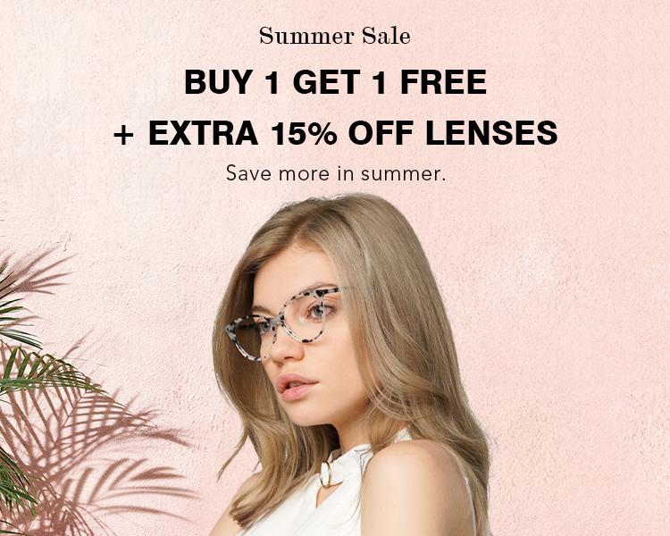 Buy One Get One Free Eyeglasses Online, BOGO Glasses, BOGO Prescription Glasses