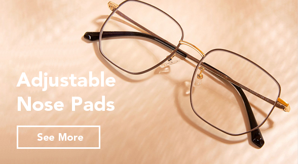 adjustable nose pads frames