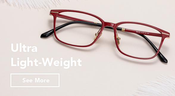 ultra light-weight glasses